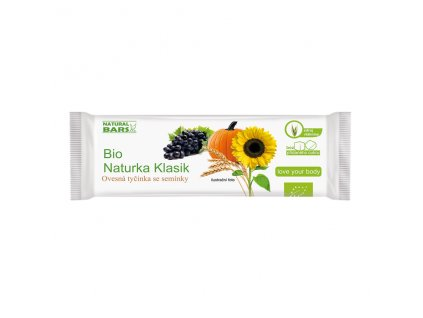 Naturka - Klasik  (snack) BIO 30 g Natural Bars