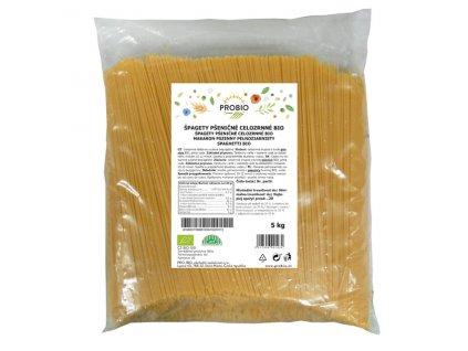 GASTRO - Špagety pšeničné celozrnné 5 kg BIO PROBIO