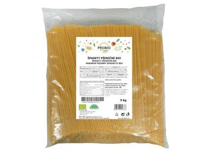 GASTRO - Špagety pšeničné bílé 5 kg BIO PROBIO