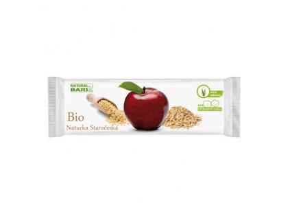 Naturka - Staročeská (snack) BIO 30 g Natural Bars