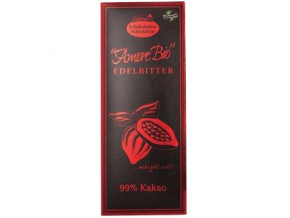 Čokoláda hořká 99% kakao 80 g BIO LIEBHART'S