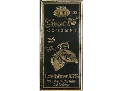 Čokoláda hořká 85% kakao 100 g BIO LIEBHART'S