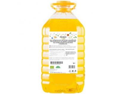GASTRO - Olej slunečnicový na pečení a smažení 5 l BIO PROBIO
