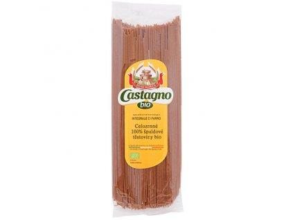 Špagety špaldové (100%) celozrnné 500 g BIO CASTAGNO CASTAGNO