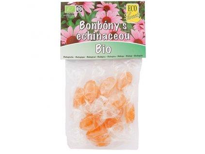 Bonbóny s echinaceou - bez cukru BIO 75 g Eco Sweets