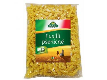 Fusilli pšeničné bílé 500 g BIO BIOLINIE