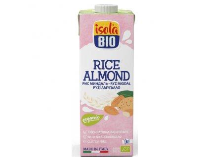 Nápoj rýžový mandlový 1000 ml BIO  BIO ISOLA