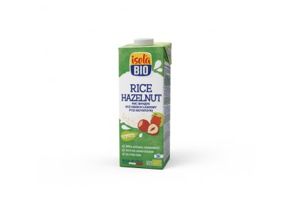 Nápoj rýžový lískooříškový 1000 ml BIO  BIO ISOLA