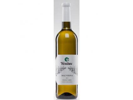 Víno bílé Malverina ročník 2017 - pozdní sběr (sladké) 750 ml BIO VERITAS