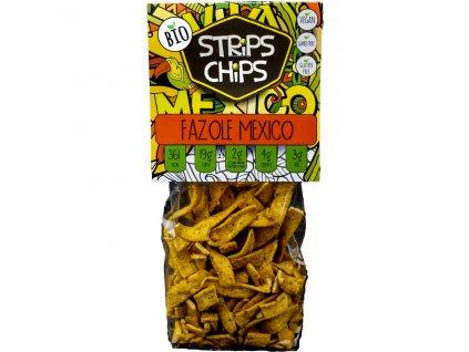 Strips chips Fazole Mexico 80 g BIO