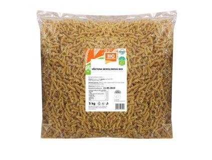 GASTRO - Vřetena semolinová 5 kg BIO PROBIO