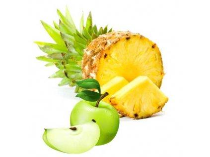 Ananas plátky - zelené jablko 5Kg
