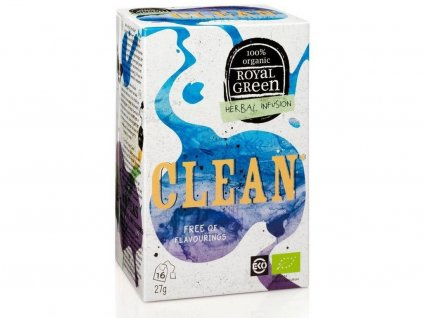 Bio bylinný čaj Clean 27g Royal Green