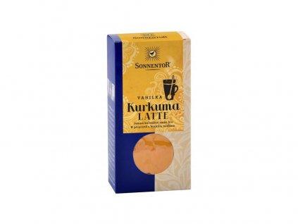 144116 akce bio kurkuma latte vanilka 60g krabicka pikantni korenena smes sonnentor