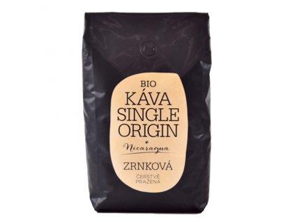 BIO Káva Single Origin Nikaragua celá zrna 1kg Sonnentor