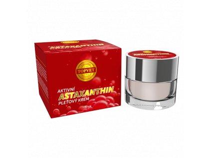 TOPVET Astaxanthin - aktivní pleťový krém 50ml