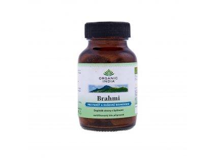 Brahmi BIO 60 kapslí Organic India