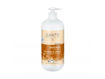 AKCE Sprchový gel Kokos - Vanilka 950 ml Sante