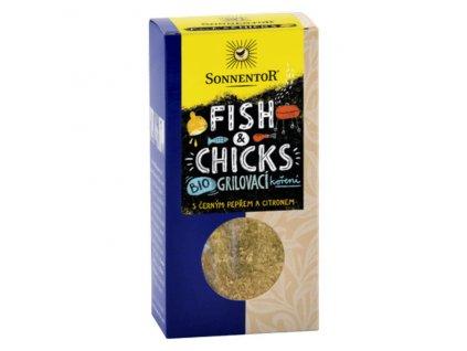 Bio Fish & Chicks - grilovací koření na ryby a kuře 55g Sonnentor