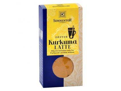 Bio Kurkuma Latte-zázvor 60g krabička (Pikantní kořeněná směs) Sonnentor