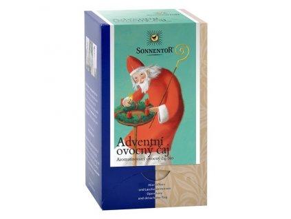 Bio Adventní ovocný čaj 50,4g dvoukomorový Sonnentor