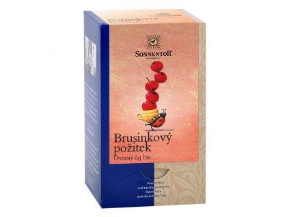 Bio Brusinkový požitek čaj porc. dvoukomorový 50,4g (18sáčků) Sonnentor