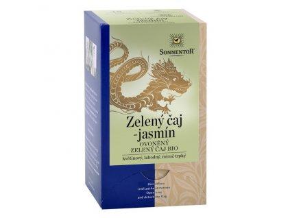 Bio Zelený čaj - jasmín porc. dárkový 27g Sonnentor