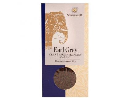 BIO Čaj - Černý Earl Grey syp.90 g Sonnentor