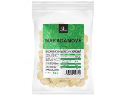 Makadamové ořechy 50g Allnature