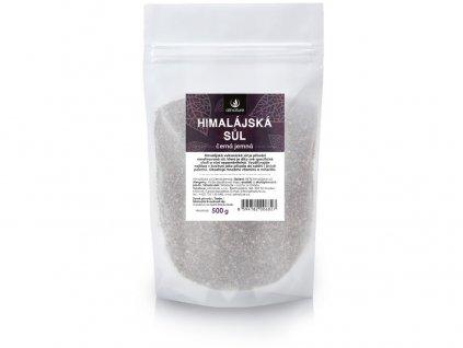 Himalajská sůl černá jemná 500g Allnature