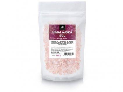 Himalájská sůl růžová hrubá 500g Allnature