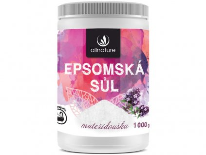 Epsomská sůl mateřídouška 1000g Allnature