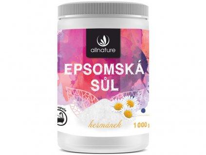 Epsomská sůl heřmánek 1000g Allnature