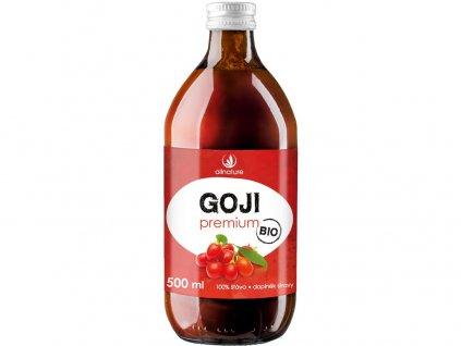 Bio goji-kustovnice čínská premium 500ml Allnature