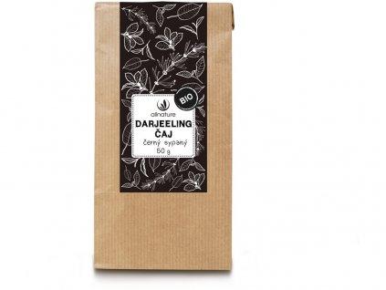 Bio Darjeeling černý čaj sypaný 50g Allnature