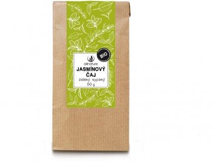 Bio Jasmínový čaj zelený sypaný 50g Allnature