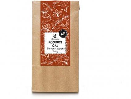 Bio Rooibos červený čaj sypaný 50g Allnature