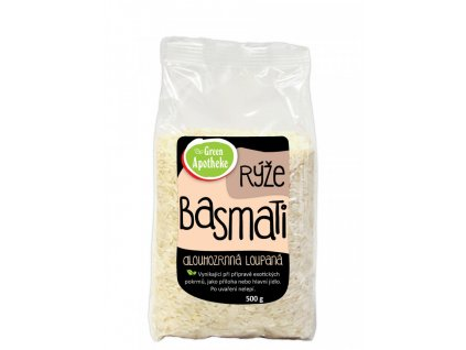 AKCE Green Apotheke Rýže Basmati loupaná bílá 500g