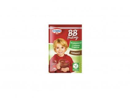 BB puding kakaový bezlepkový 58g