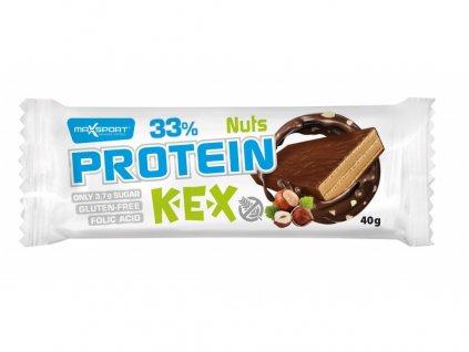 Protein kex oříšek 40 g Max sport