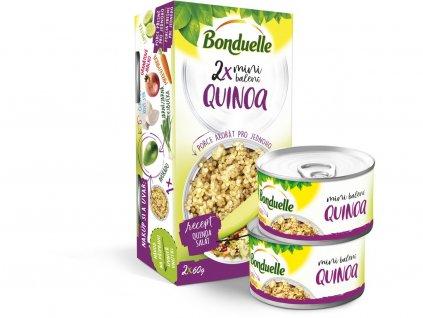 Quinoa Vapeur 2x106ml Bonduelle