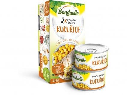 Kukuřice mini SRP 2x106ml Bonduelle