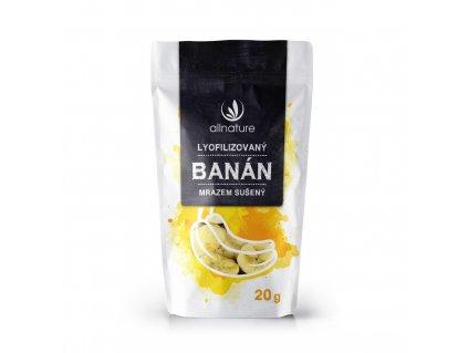 Akce Allnature Banán sušený mrazem plátky 20 g