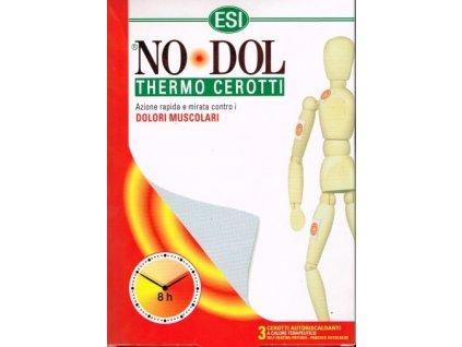 NO DOL - NÁPLAST ulevující od bolesti 3 ks ESI