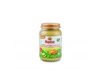Dětská výživa Brambory s hráškem a cuketou BIO 190 g Holle