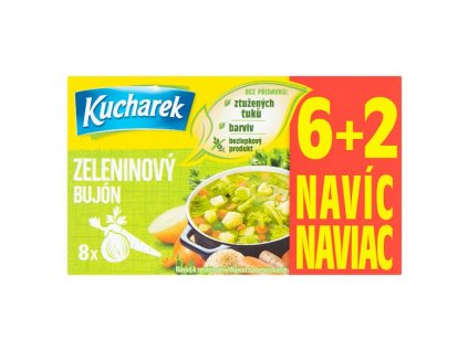 Kuchárek zeleninový bujón 80g 8 kostek