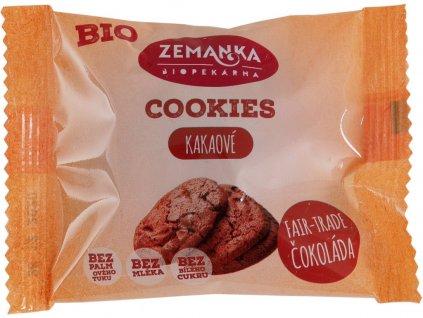 Bio cookies kakaové 33g Biopekárna Zemanka