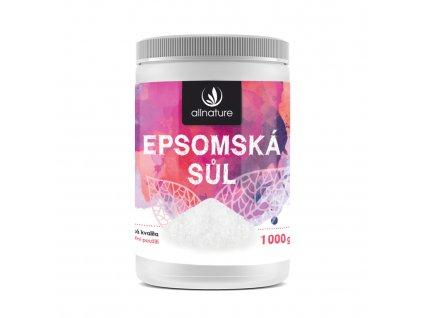 Akce Allnature Epsomská sůl 1000 g