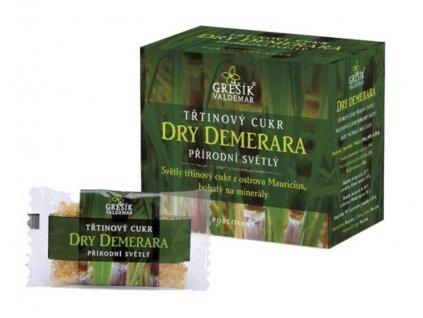Cukr Dry Demerara třtinový přírodní světlý 40x6g Grešik