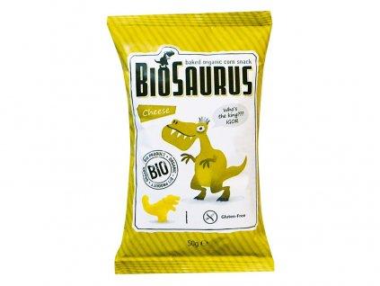 AKCE Bio Biosaurus křupky se sýrem 50g Biosaurus